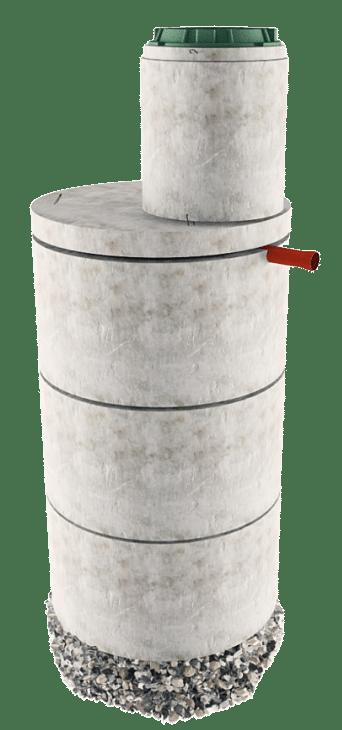 Септик из бетонных колец в Сергиево-Посадском районе